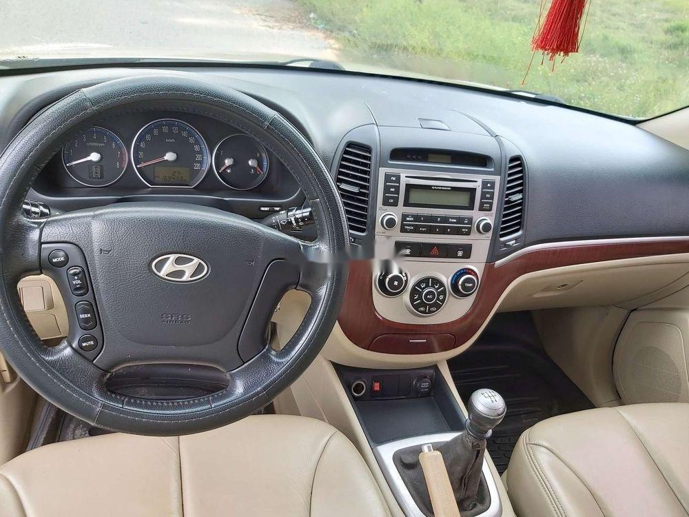 Bán Hyundai Santa Fe 2008, màu kem (be), nhập khẩu chính hãng (5)