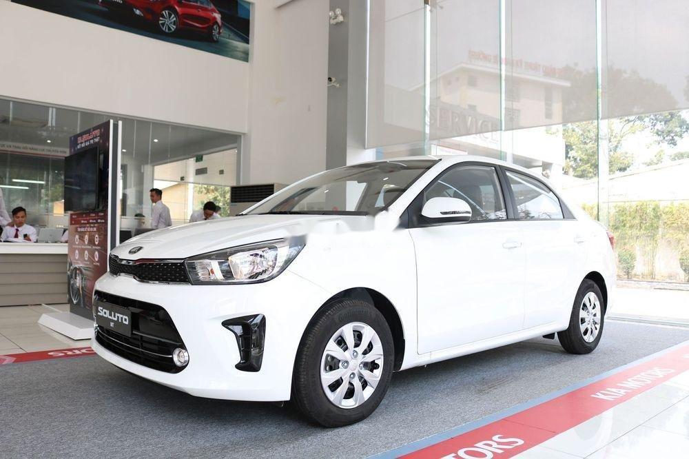 Bán ô tô Kia Soluto 2019, màu trắng, giá 399tr (4)