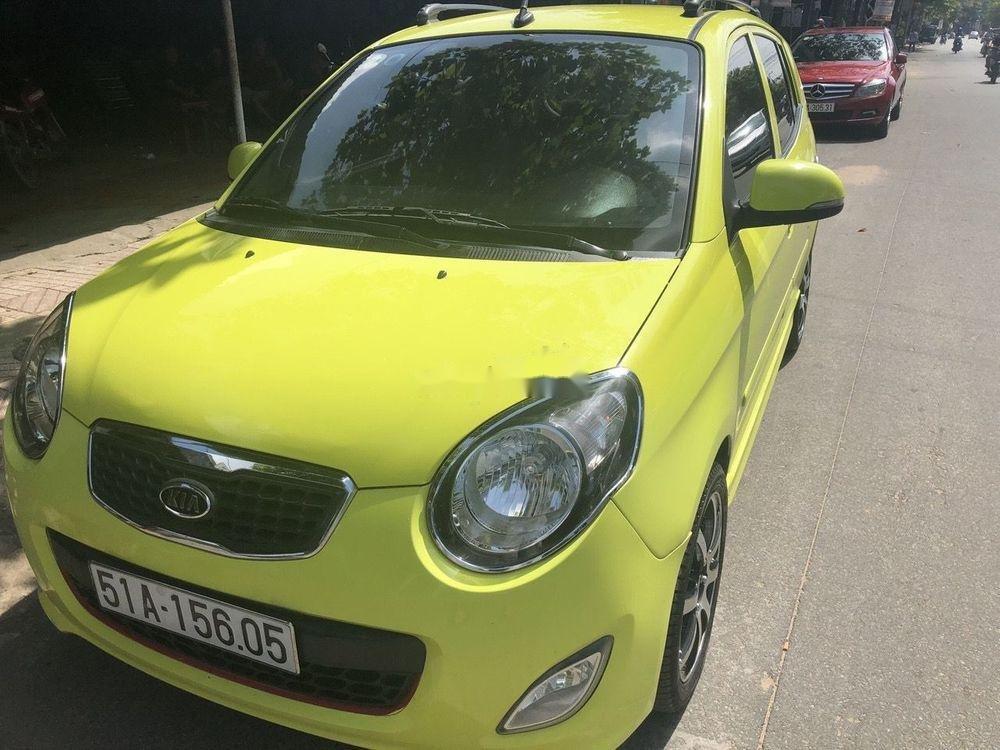 Cần bán xe Kia Morning 2011, màu xanh lục xe nguyên bản (3)