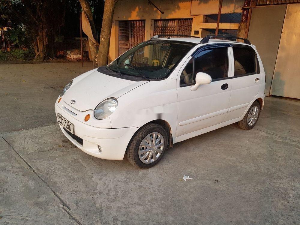 Bán Daewoo Matiz đời 2008, màu trắng xe nguyên bản (1)