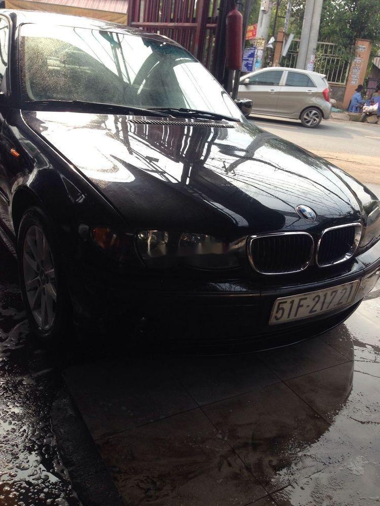 Bán xe BMW 3 Series sản xuất 2003, màu đen xe nguyên bản (9)