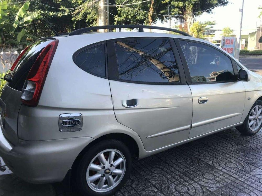 Cần bán xe Chevrolet Vivant năm sản xuất 2010, màu bạc (9)