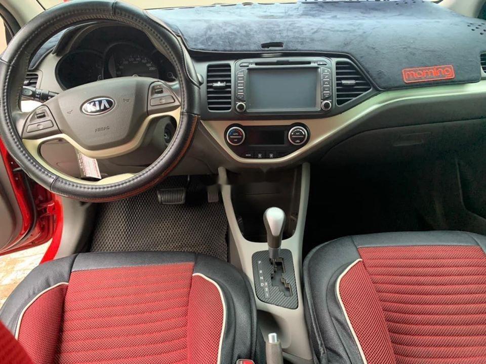 Bán ô tô Kia Morning sản xuất năm 2014, màu đỏ giá cạnh tranh, xe nguyên bản (2)