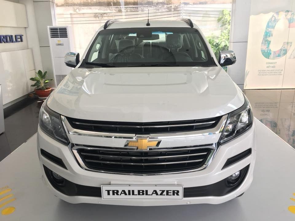 Bán Chevrolet Trailblazer năm sản xuất 2019, màu trắng, nhập khẩu   (1)