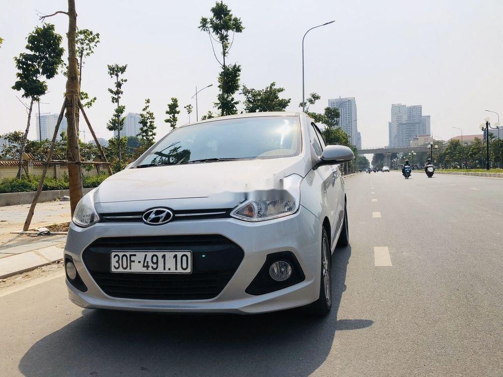 Bán Hyundai Grand i10 đời 2016, màu bạc, nhập khẩu, xe gia đình  (3)