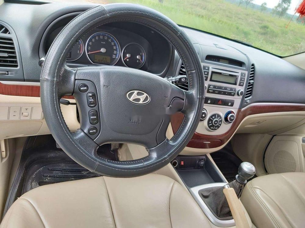 Bán Hyundai Santa Fe 2008, màu kem (be), nhập khẩu chính hãng (4)