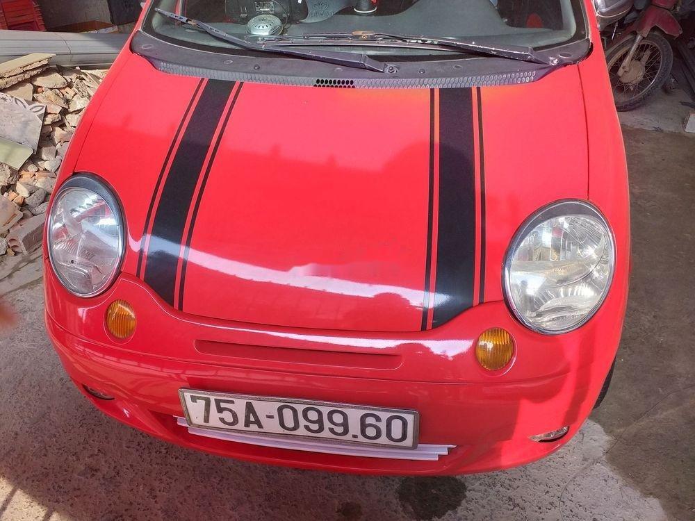 Cần bán Daewoo Matiz sản xuất năm 2004, màu đỏ, xe nhập (1)