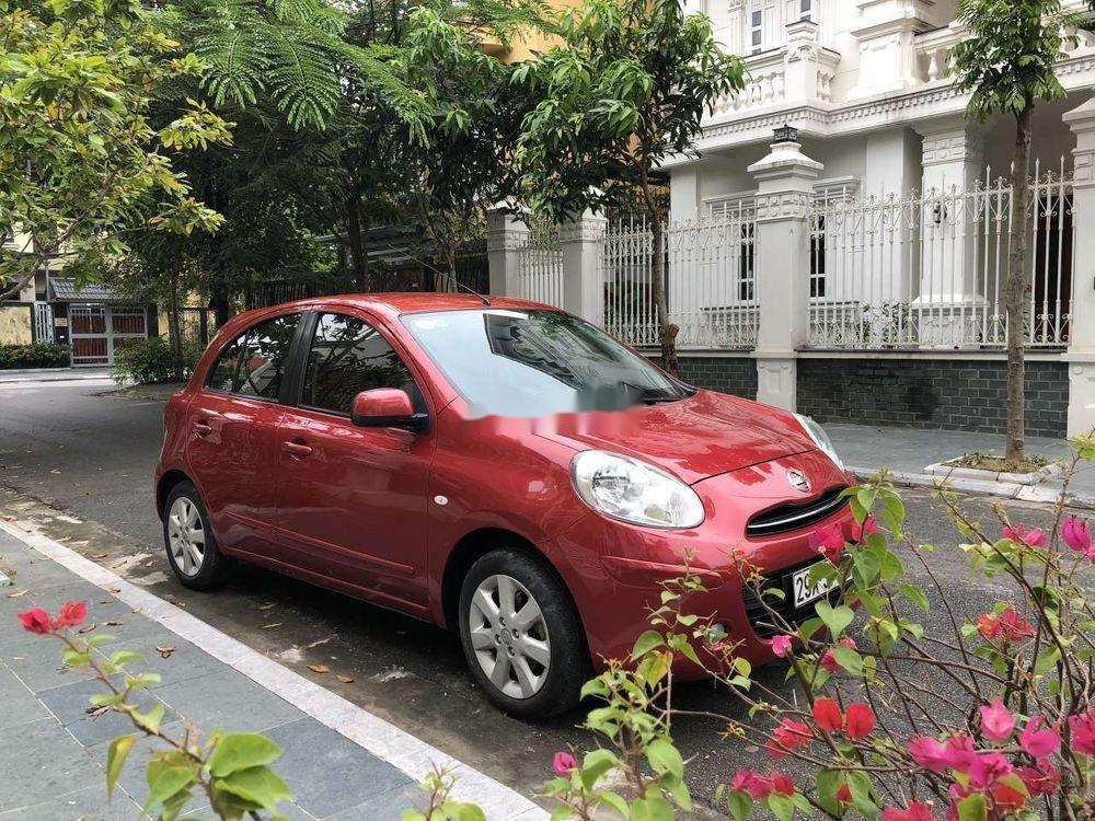 Bán Nissan Micra năm 2011, màu đỏ, nhập khẩu chính hãng (3)