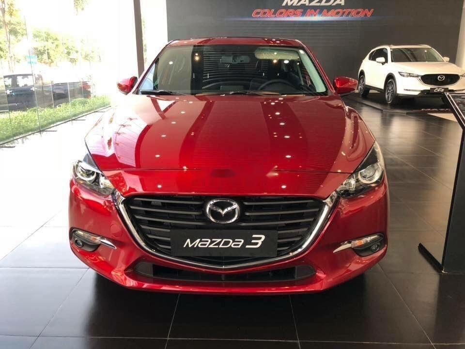 Bán xe Mazda 3 sản xuất năm 2019, màu đỏ, giá tốt (1)