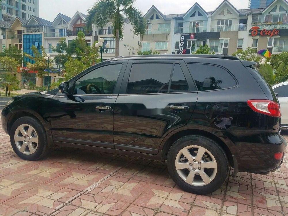 Bán Hyundai Santa Fe năm sản xuất 2008, màu đen, xe nhập chính hãng (2)