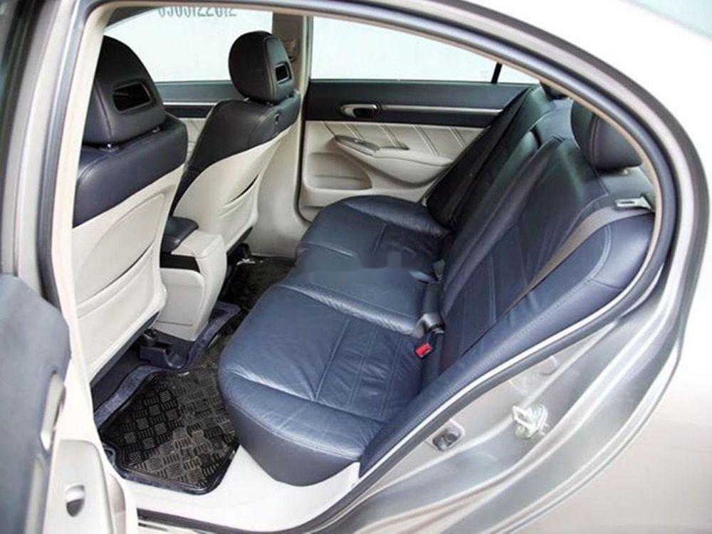 Bán Honda Civic đời 2008, màu xám chính chủ xe nguyên bản (6)