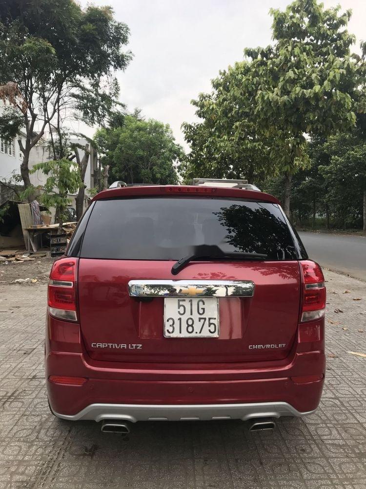 Bán Chevrolet Captiva sản xuất 2017, màu đỏ, 590 triệu (2)