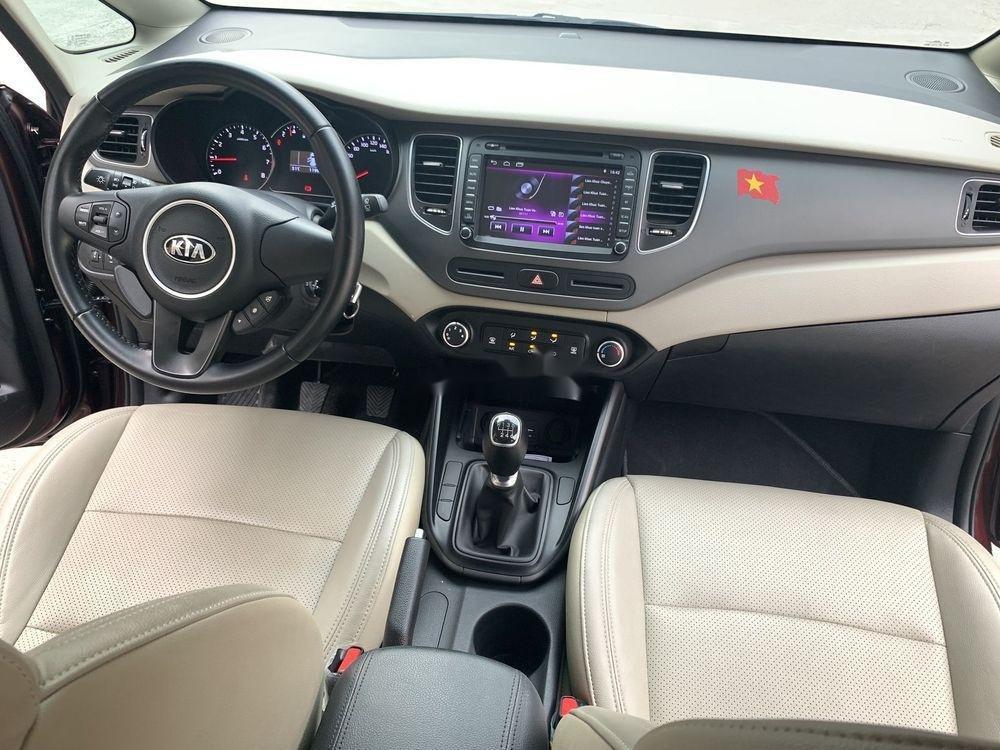 Cần bán lại xe Kia Rondo sản xuất năm 2018, màu nâu xe nguyên bản (7)
