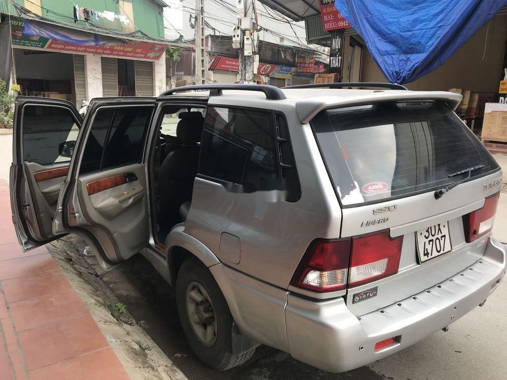 Bán ô tô Ssangyong Musso đời 2005, xe nhập chính hãng (12)