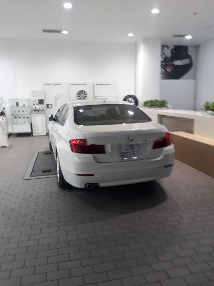 Cần bán gấp BMW 5 Series 520i đời 2014, màu trắng (2)