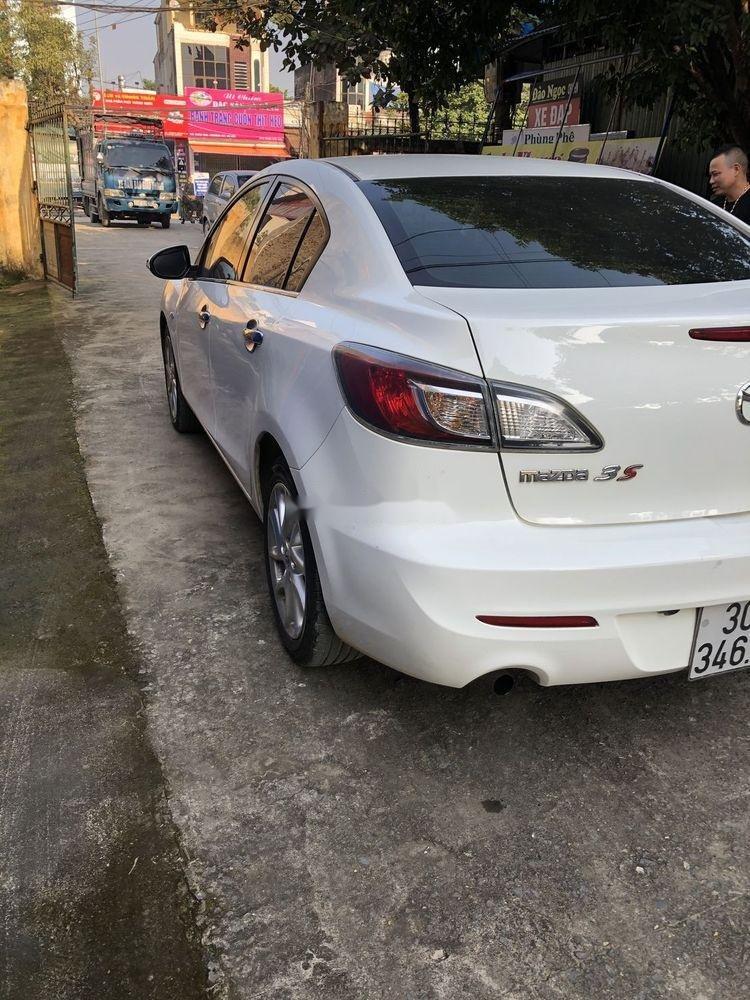 Cần bán gấp Mazda 3 đời 2014, màu trắng xe nguyên bản (6)