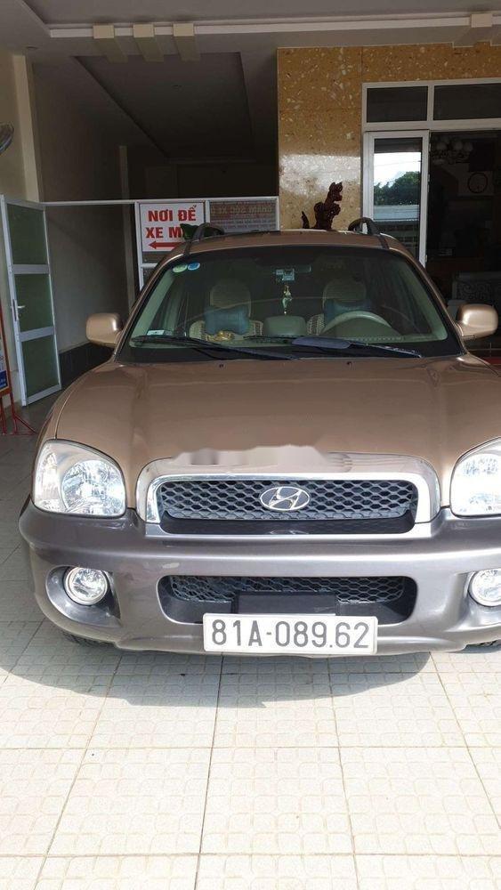 Cần bán gấp Hyundai Santa Fe AT đời 2004, nhập khẩu, giá chỉ 300 triệu (2)