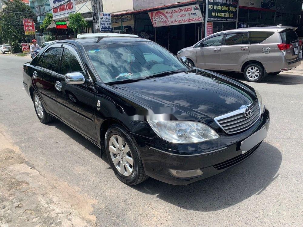 Bán ô tô Toyota Camry 2003, màu đen, nhập khẩu nguyên chiếc chính hãng (1)