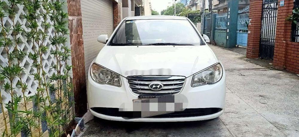 Bán Hyundai Elantra đời 2011, màu trắng, nhập khẩu, xe gia đình (1)