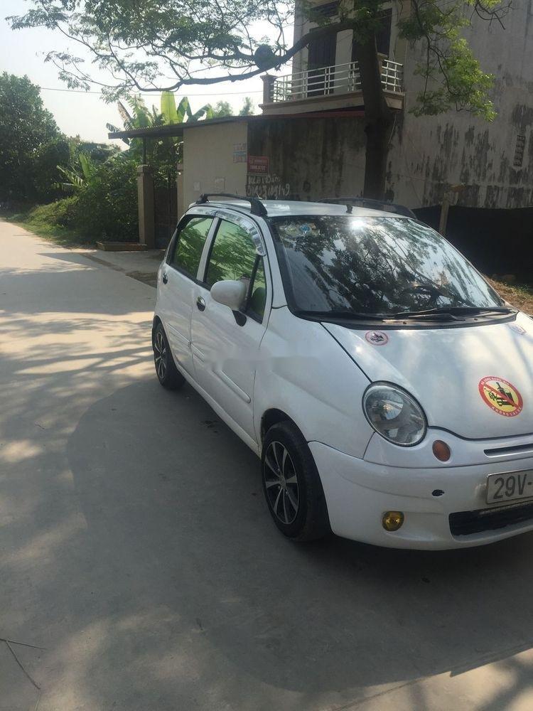 Bán Daewoo Matiz đời 2004, màu trắng, xe đẹp (2)