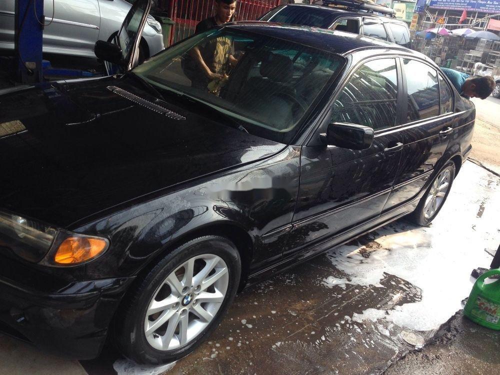 Bán xe BMW 3 Series sản xuất 2003, màu đen xe nguyên bản (1)
