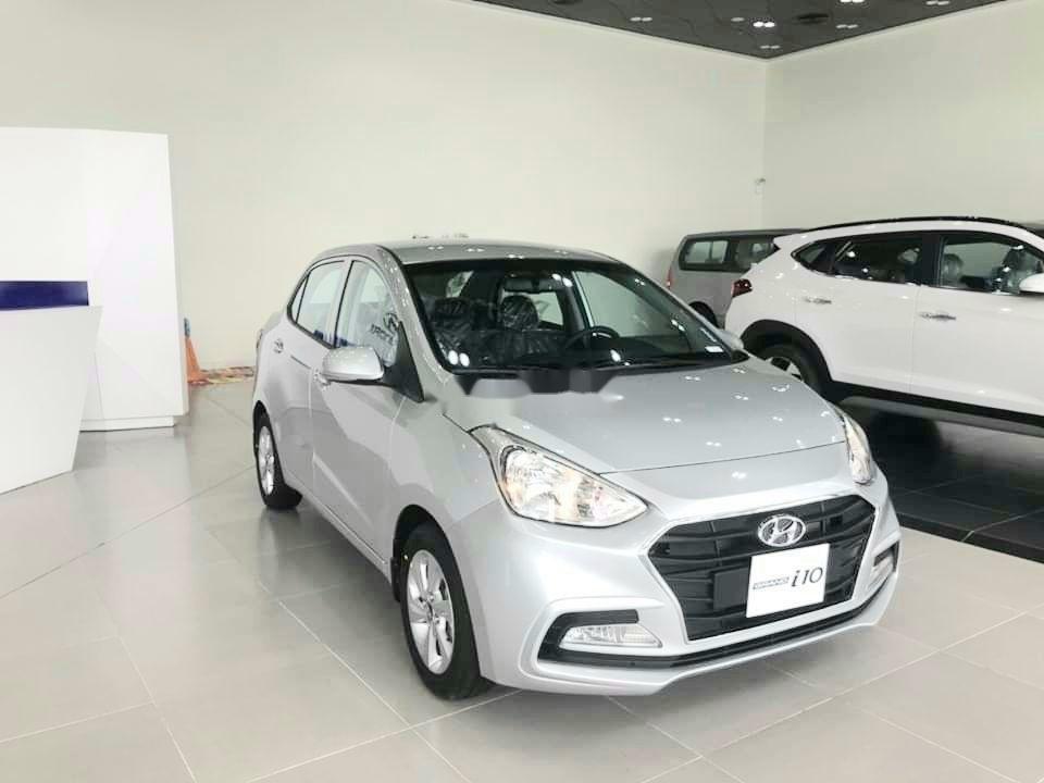 Cần bán xe Hyundai Grand i10 năm sản xuất 2019, màu trắng giá cạnh tranh xe nội thất đẹp (6)