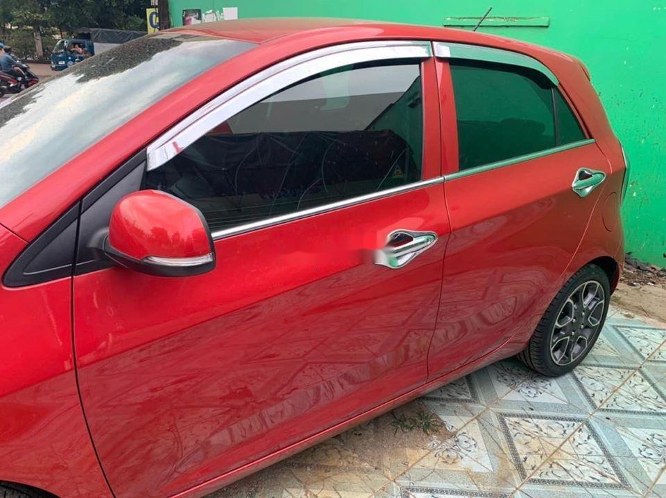Bán ô tô Kia Morning sản xuất năm 2014, màu đỏ giá cạnh tranh, xe nguyên bản (1)