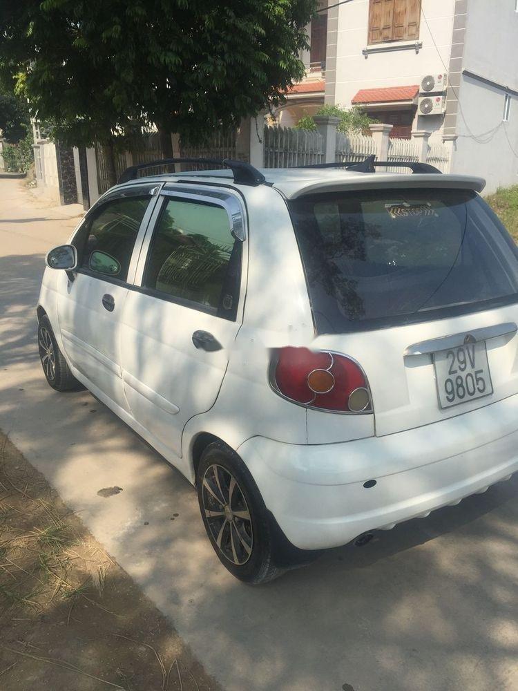 Bán Daewoo Matiz đời 2004, màu trắng, xe đẹp (4)