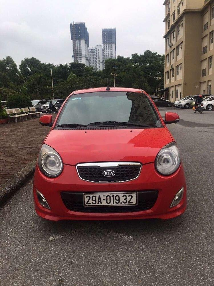 Cần bán lại xe Kia Morning AT sản xuất năm 2010, màu đỏ, nhập khẩu, giá tốt (3)