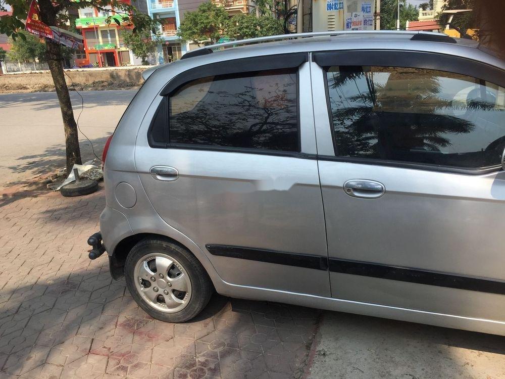 Cần bán lại xe Chevrolet Spark đời 2009, màu bạc xe nguyên bản (1)