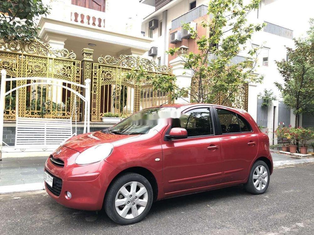 Bán Nissan Micra năm 2011, màu đỏ, nhập khẩu chính hãng (6)