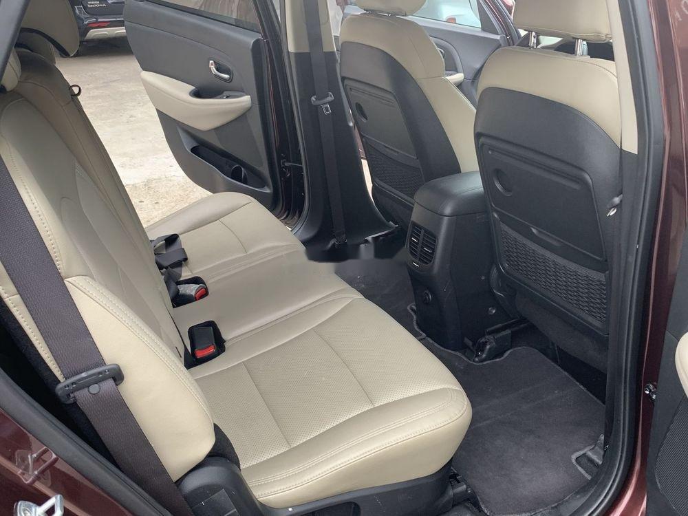 Cần bán lại xe Kia Rondo sản xuất năm 2018, màu nâu xe nguyên bản (6)