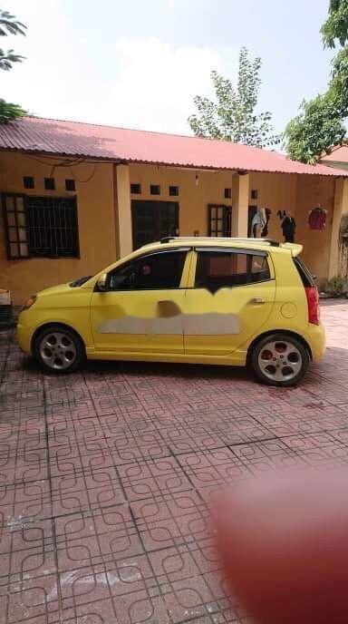 Bán ô tô Kia Morning năm sản xuất 2008, màu vàng, xe nhập chính hãng (2)