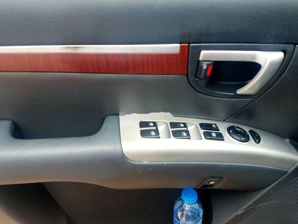 Bán Hyundai Santa Fe năm sản xuất 2008, màu đen, xe nhập chính hãng (7)