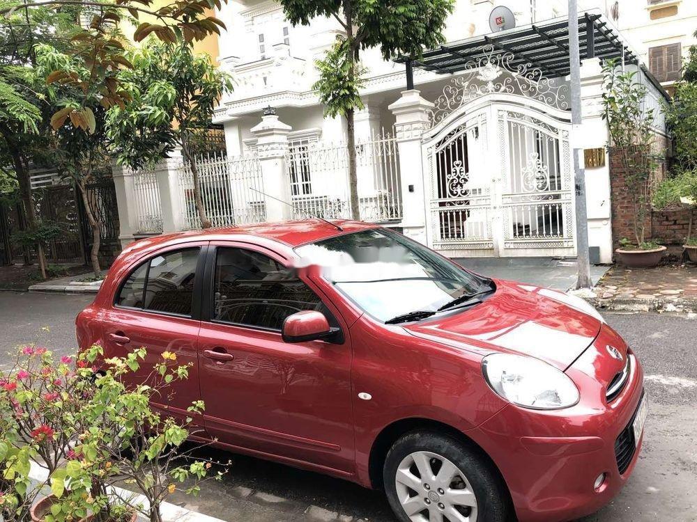 Bán Nissan Micra năm 2011, màu đỏ, nhập khẩu chính hãng (2)