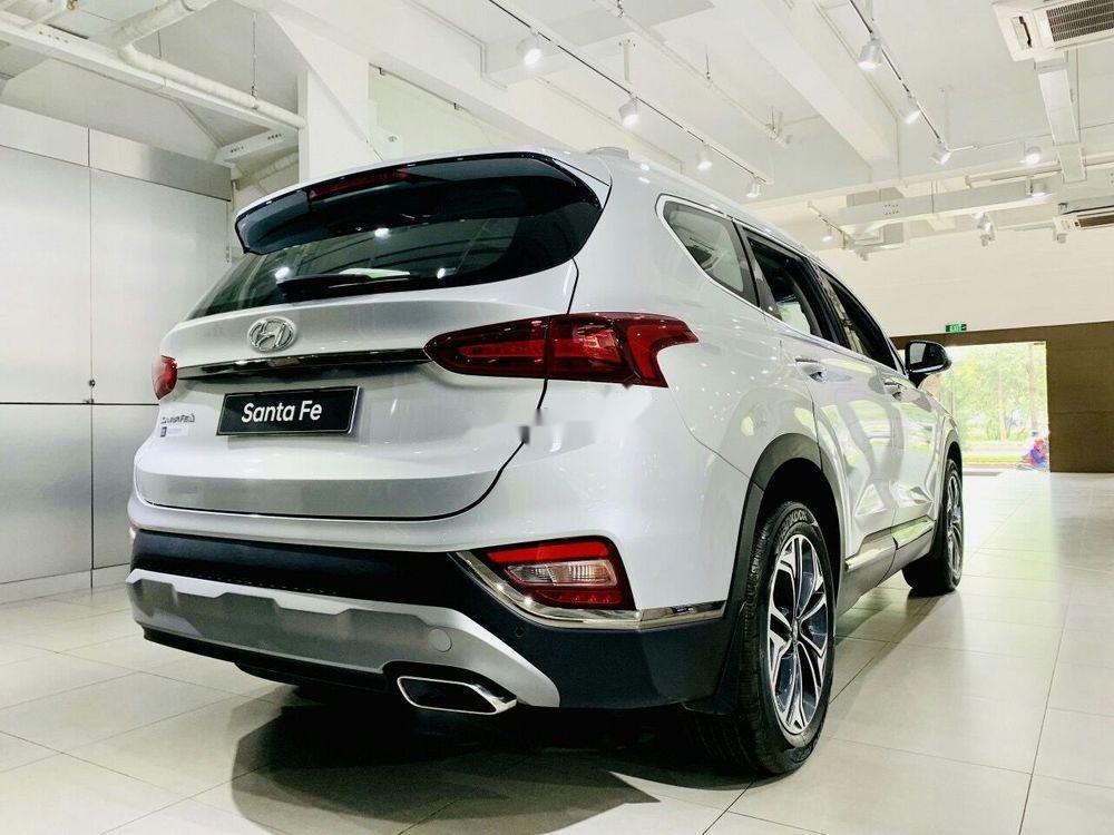 Bán Hyundai Santa Fe năm sản xuất 2019, màu trắng, xe nhập (3)