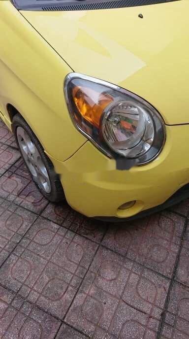 Bán ô tô Kia Morning năm sản xuất 2008, màu vàng, xe nhập chính hãng (1)