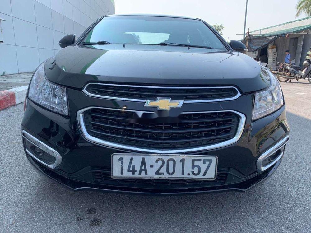Bán Chevrolet Cruze năm sản xuất 2016, màu đen, chính chủ, 388 triệu (1)