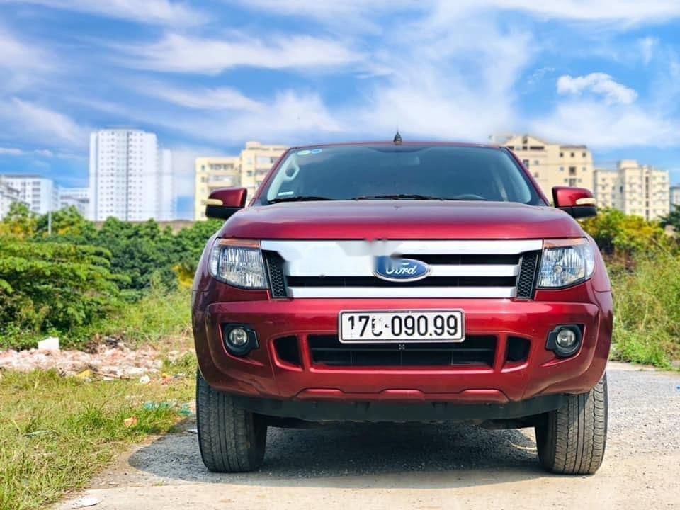 Bán Ford Ranger năm 2014, màu đỏ, nhập khẩu nguyên chiếc chính hãng (1)