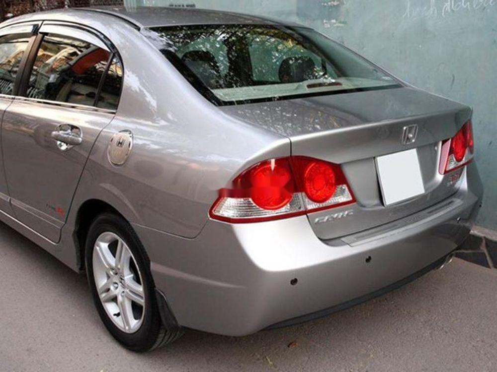 Bán Honda Civic đời 2008, màu xám chính chủ xe nguyên bản (3)