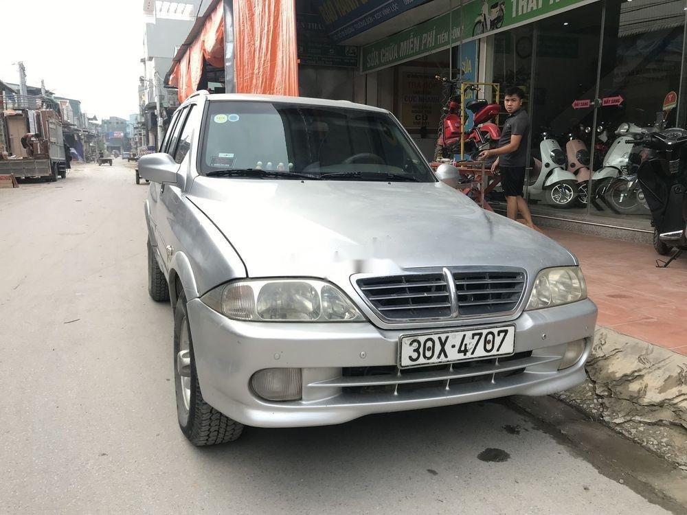 Bán ô tô Ssangyong Musso đời 2005, xe nhập chính hãng (1)