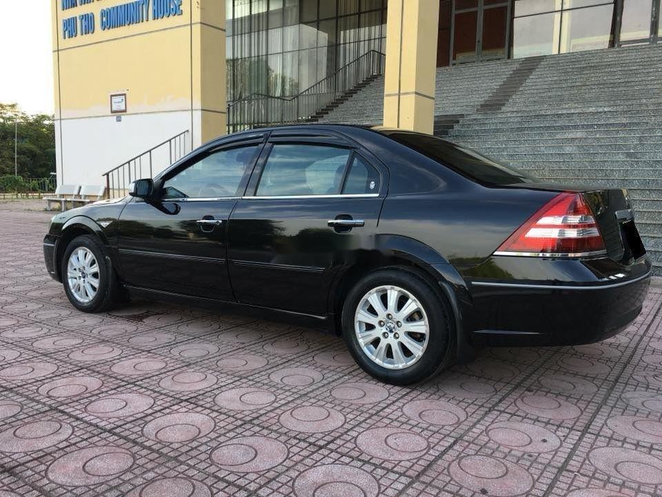 Bán Ford Mondeo đời 2004, màu đen xe nguyên bản (7)