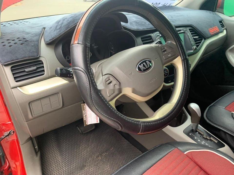 Bán ô tô Kia Morning sản xuất năm 2014, màu đỏ giá cạnh tranh, xe nguyên bản (4)