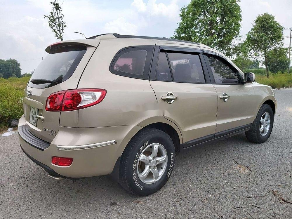 Bán Hyundai Santa Fe 2008, màu kem (be), nhập khẩu chính hãng (11)