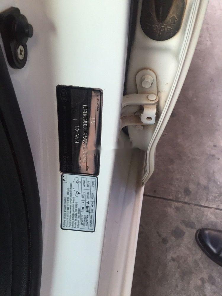 Bán Kia K3 2.0 AT năm sản xuất 2015, màu trắng chính chủ (8)