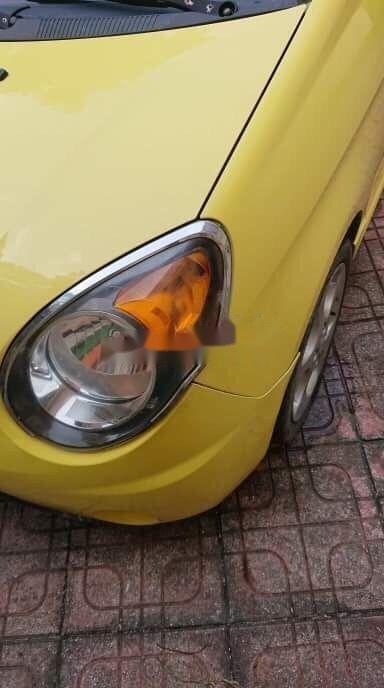Bán ô tô Kia Morning năm sản xuất 2008, màu vàng, xe nhập chính hãng (4)