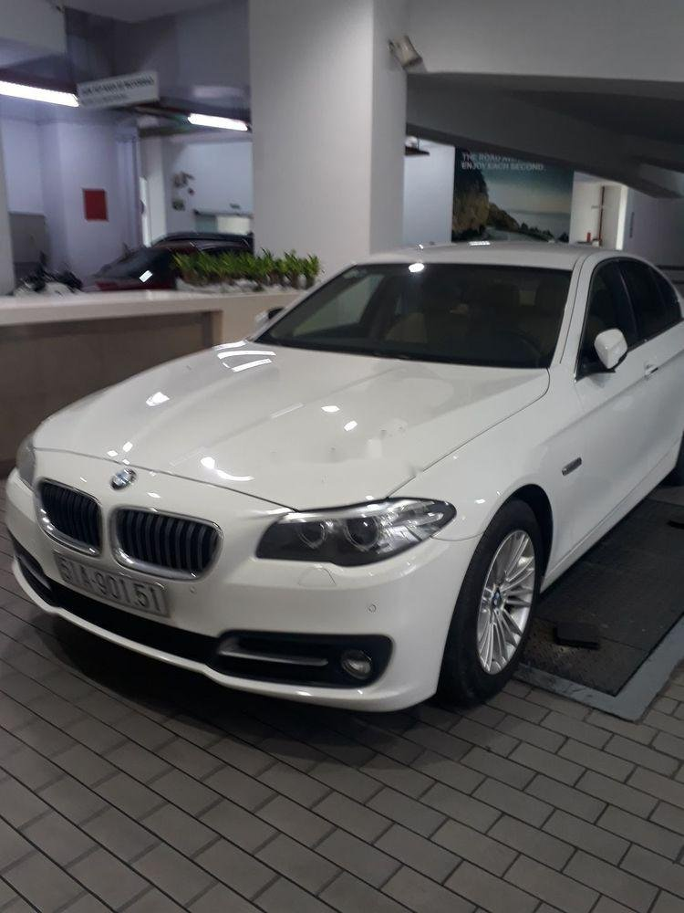 Cần bán gấp BMW 5 Series 520i đời 2014, màu trắng (1)