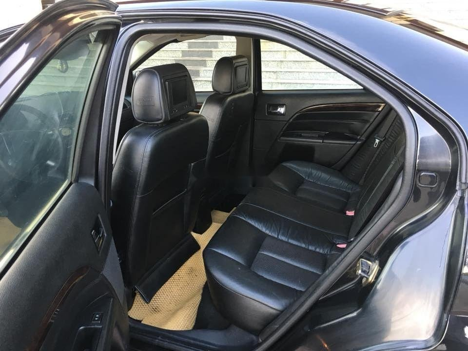 Bán Ford Mondeo đời 2004, màu đen xe nguyên bản (6)