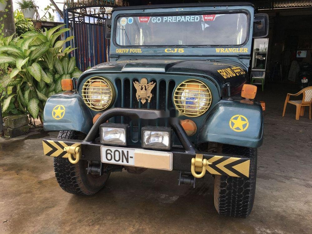 Cần bán gấp Jeep CJ đời 1980, nhập khẩu, giá 120tr (1)