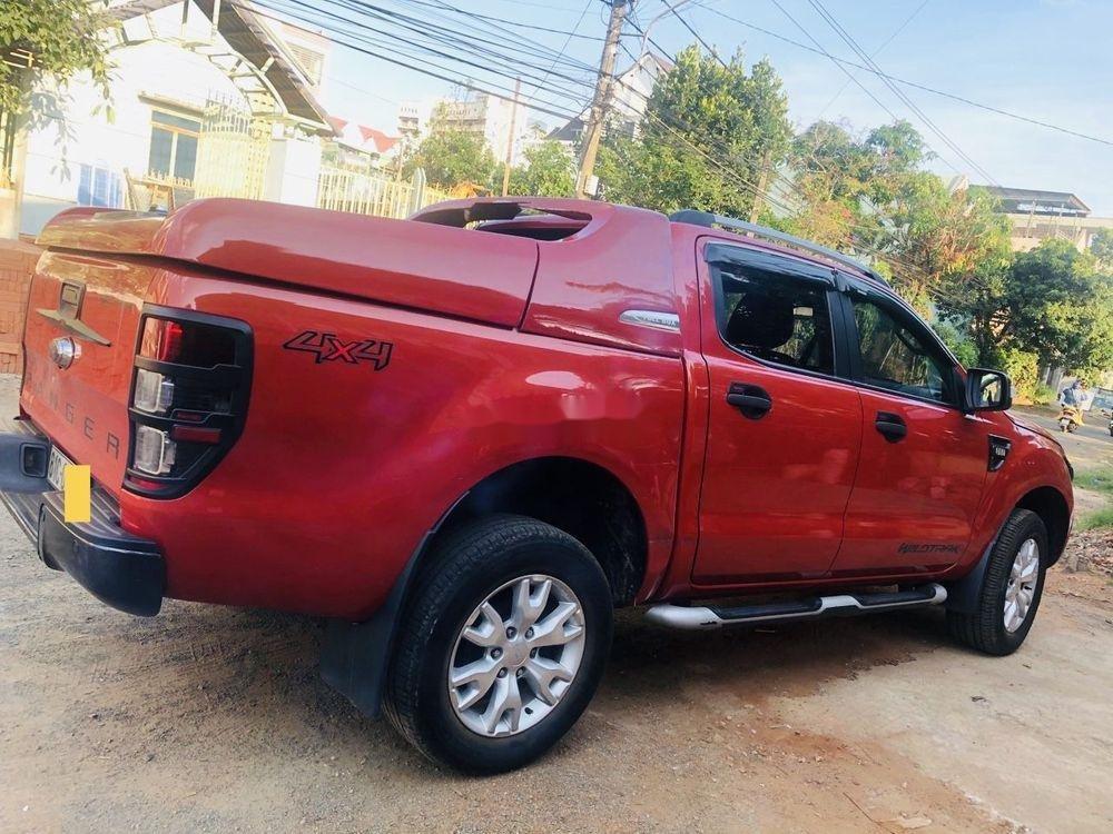 Cần bán lại xe Ford Ranger đời 2015, màu đỏ, nhập khẩu nguyên chiếc chính hãng (3)